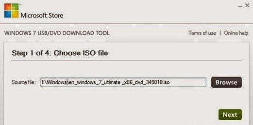 Installer flashdisk