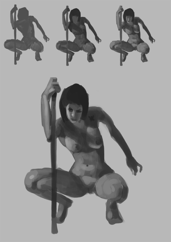 "Spartan Camp #238 - 50 gestures + Optional ""Figure Tonal Study"""