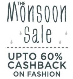 Clothing & Footwear Extra upto 60% Cashback – PayTm