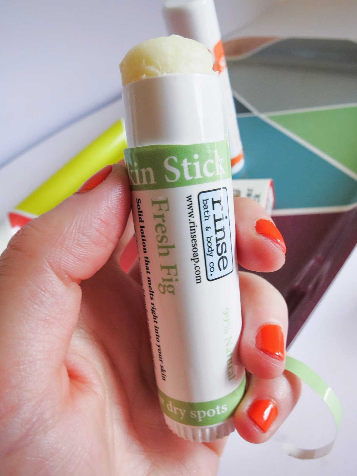 Rinse Soap Pucker Stick Body Lotion Natural Review