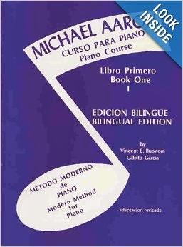 Michael Aaron Piano Course Curso Para Piano Bk 1 Spanish