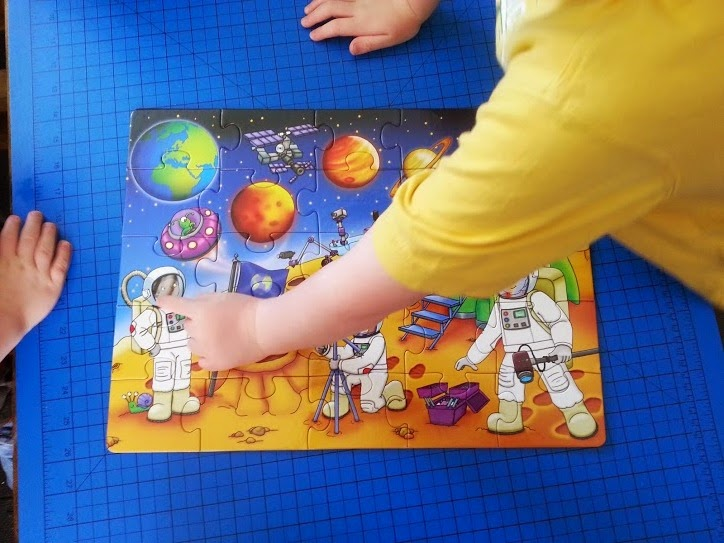Orchard Toys Who's In Space? Puzzle age 3+
