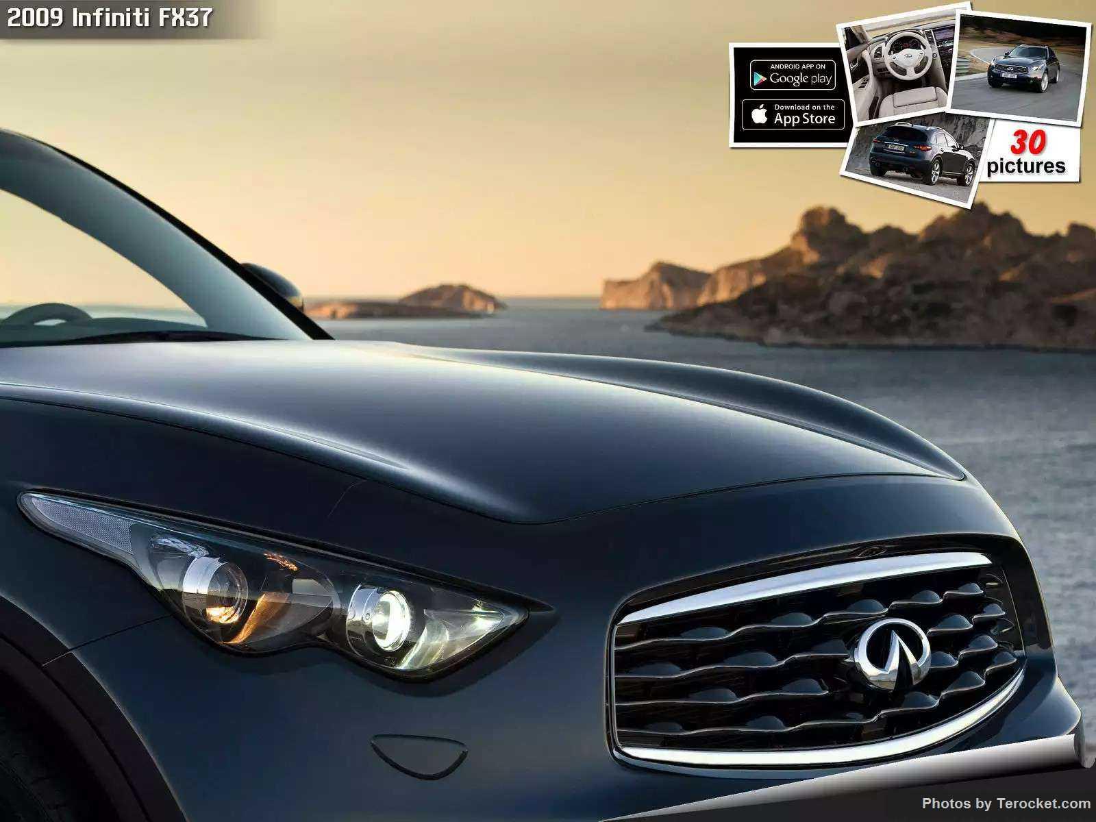 Hình ảnh xe ô tô Infiniti FX37 2009 & nội ngoại thất