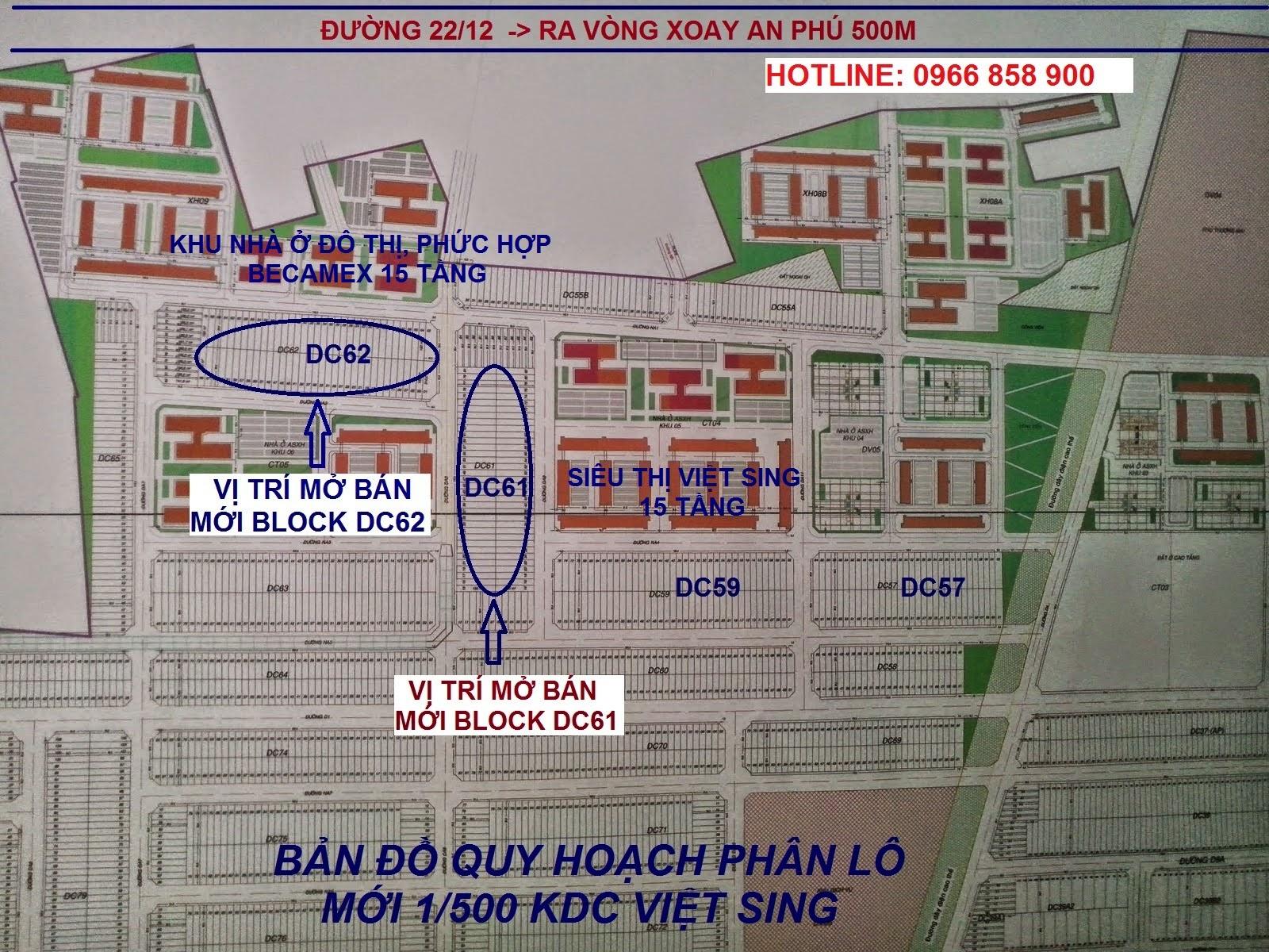 Bán đất nền Việt Sing, VSIP 1 Bình Dương ảnh 2