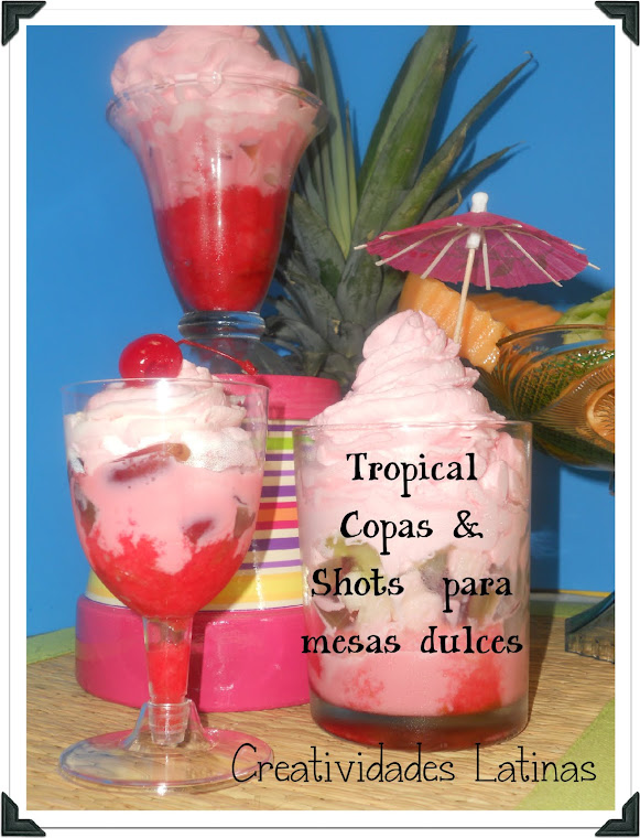 Shots para mesas dulces