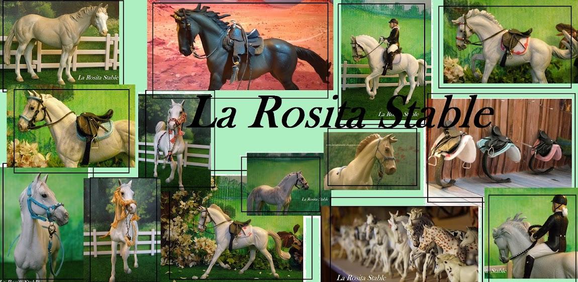 La Rosita Stable - akcesoria na modele koni