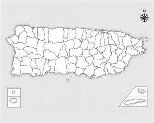 Mapa de puerto rico colouring pages page 2