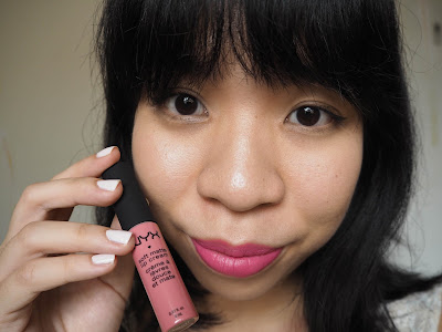 NYX Cosmetics Soft Matte Lip Cream in Milan