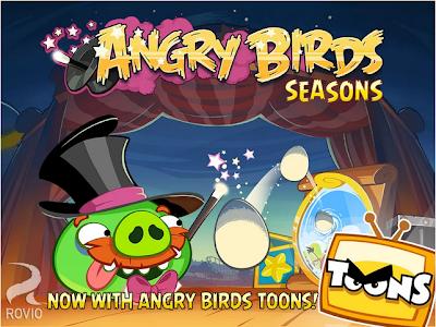 """¡Angry Birds Seasons lleva la adictiva mecánica de juego del original a un nuevo nivel! Desde Halloween al Año Nuevo chino, ¡los pájaros van a celebrar las distintas fiestas de todo el mundo! Con más de 290 niveles y actualizaciones periódicas gratuitas, estos episodios especiales ofrecen más desafiantes niveles para reventar cerdos y más huevos dorados por descubrir. Características: """"Toda la diversión de Angry Birds pero más desafiante, y con calabazas y regalos."""" """"Otra entrega con la genial mecánica de juego de Angry Birds que ya conoces. Bien diseñado y con niveles increíblemente desafiantes."""" """"Una evocadora buena extensión del juego"""