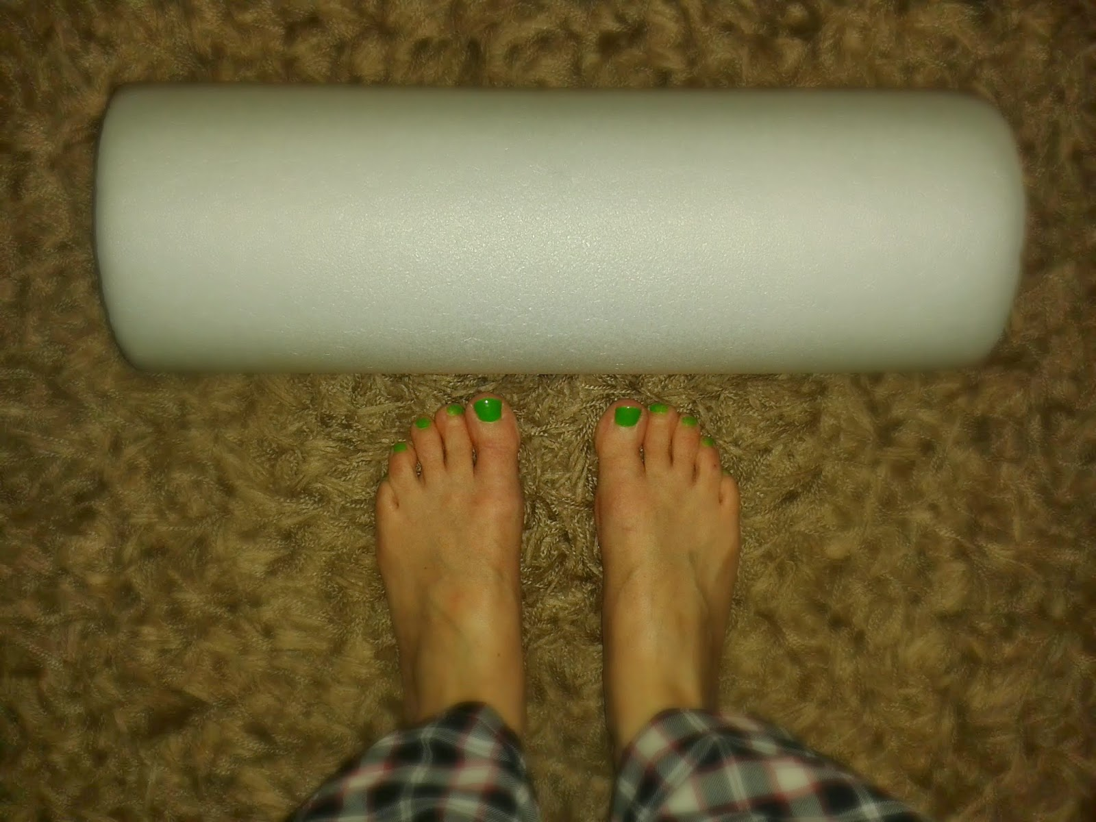 Project 365 day 77 - Foam roller // 76sunflowers
