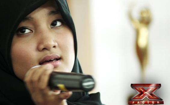 Video Fatin Lagu Diamonds (Rihanna) | X Factor Indonesia 15 Februari 2013