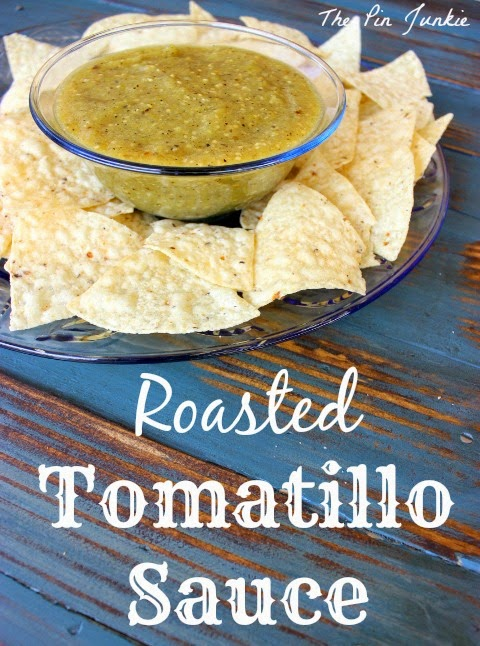 roasted tomatillo sauce
