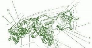 fuse box ford 1997 escort under hood diagram circuit
