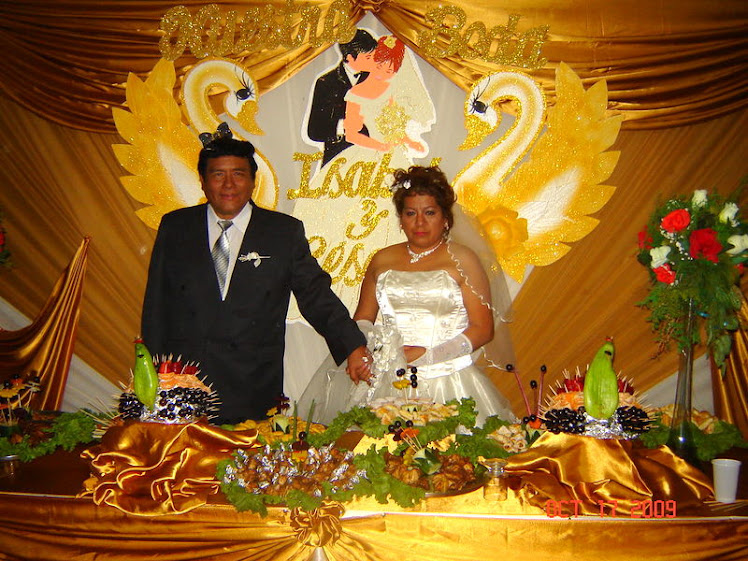 Matrimonio de César e Isabel