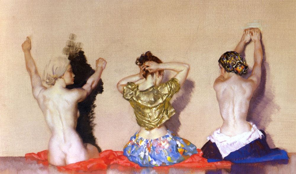 sir william russell flint women