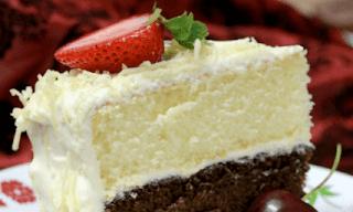 Resepi kek span vanilla sedap dan simple