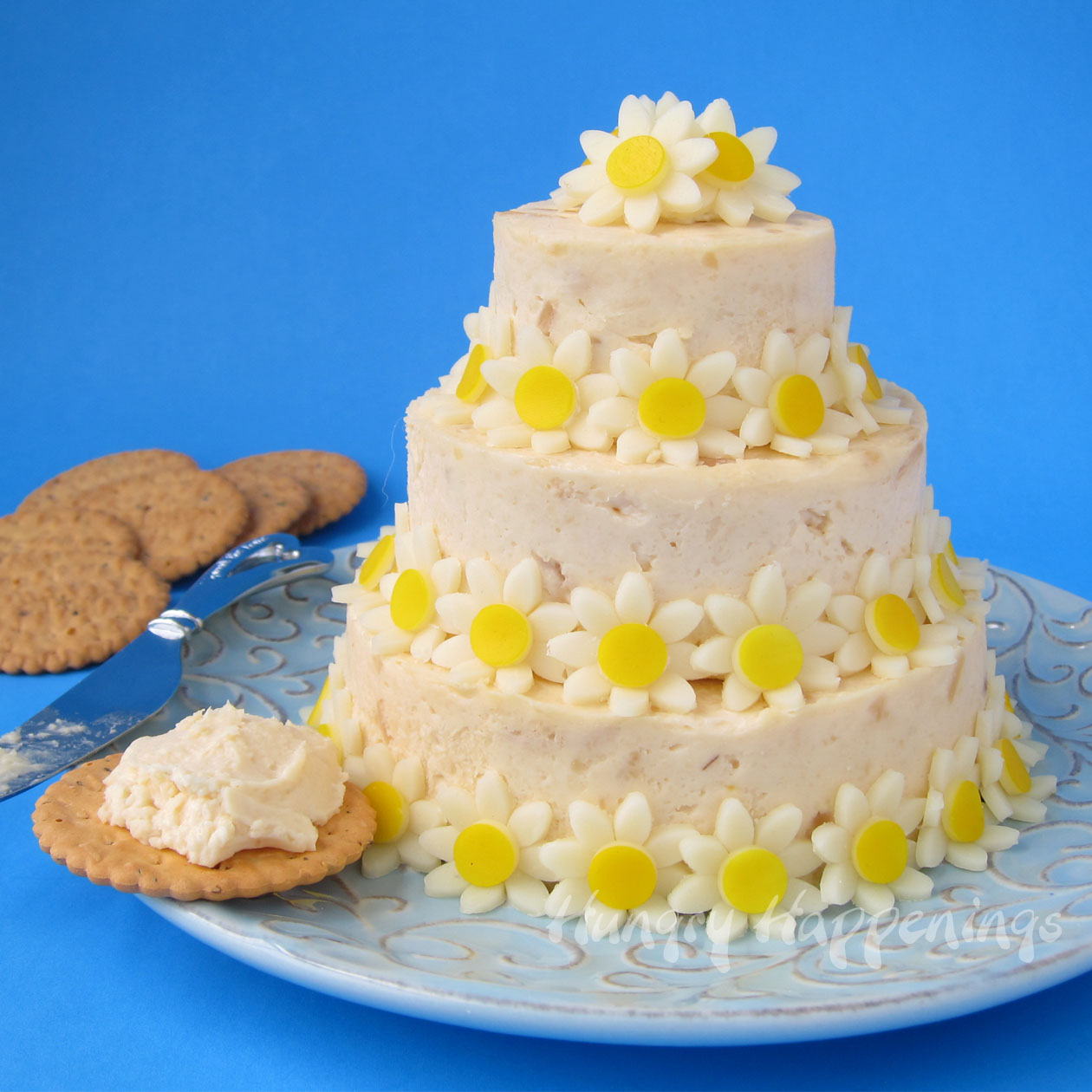 Wedding Cake Cheese Ball - Special Occasion Appetizer