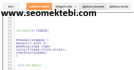 Google Drive Kullanarak Blogger'da CSS Dosyaları Yayınlama