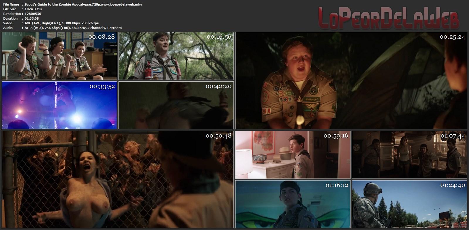 A la Mierda con los Zombis (2015) BrRip 720p Latino [Mega]