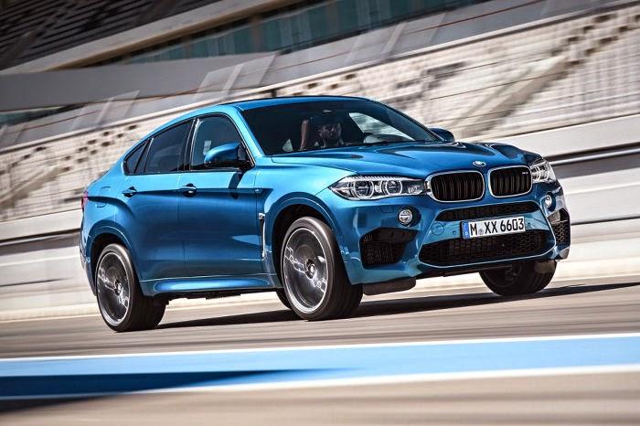 BMW batió el récord de Nürburgring para las SUV´s con el X6 M
