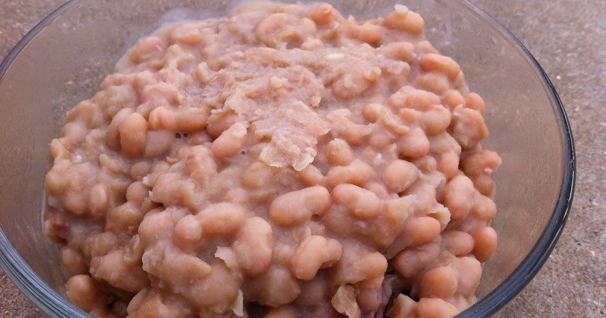 how to make navy bean soup in a crock pot