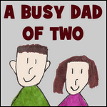 Busy Dad Button