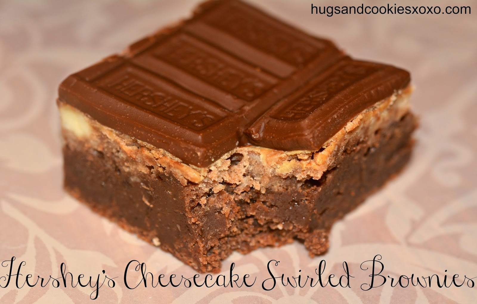HERSHEY MARBLED CHEESECAKE BROWNIE BARS!!! - Hugs and Cookies XOXO