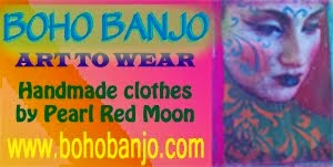 Boho Banjo pattern shop