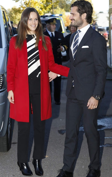 Princess Sofia Hellqvist of Sweden and Prince Carl Philip of Sweden visits Dalarna