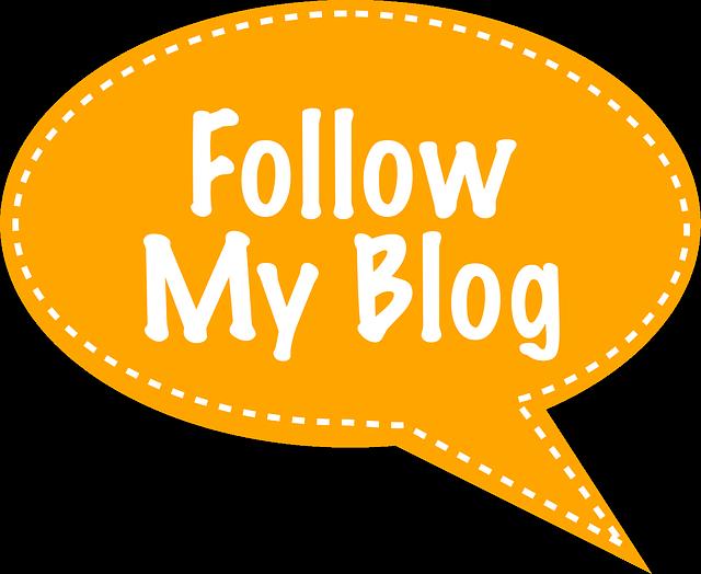 cara follow blog orang lain pada blogger