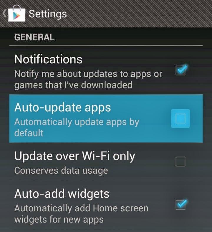 comment d sactiver la mise jour automatique de vos applications android tout sur android. Black Bedroom Furniture Sets. Home Design Ideas
