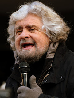 Beppe Grillo, By Niccolò Caranti (Own work) [CC-BY-SA-3.0 (http://creativecommons.org/licenses/by-sa/3.0)], via Wikimedia Commons