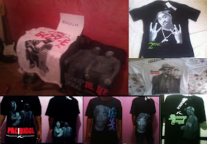Camisas de RAP a venda