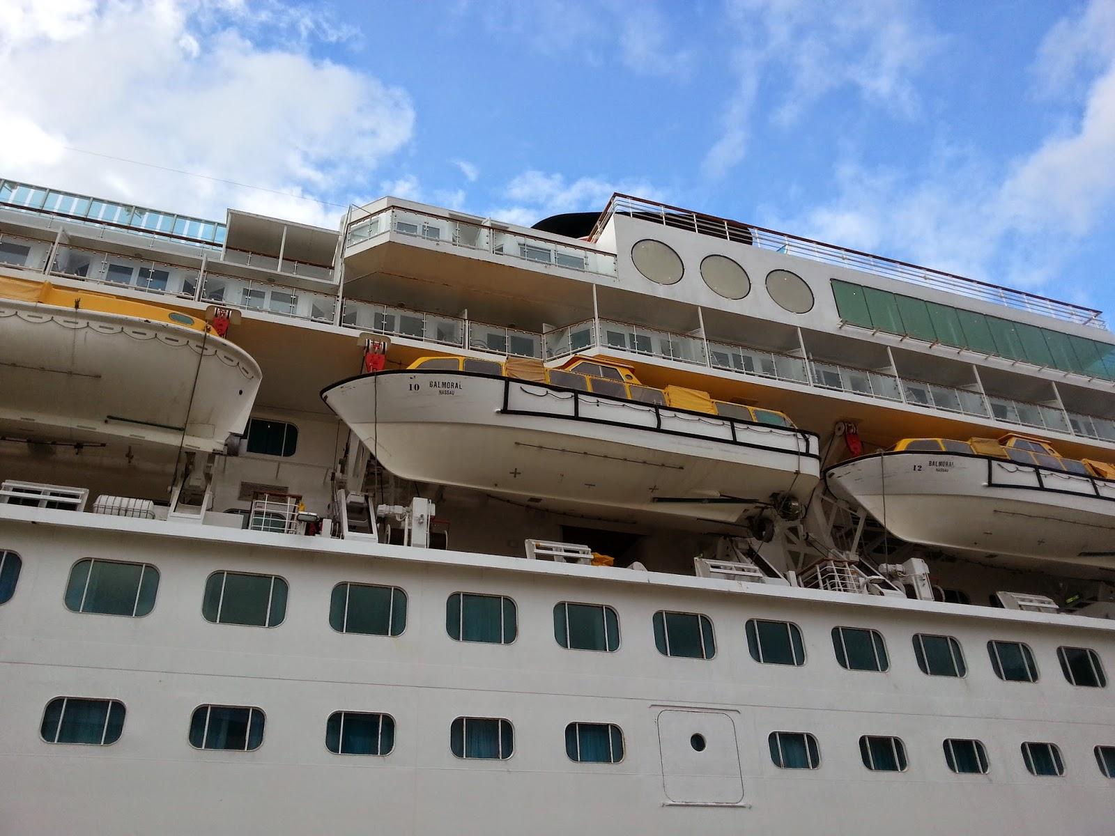 Cruise Ship Balmoral in Bergen