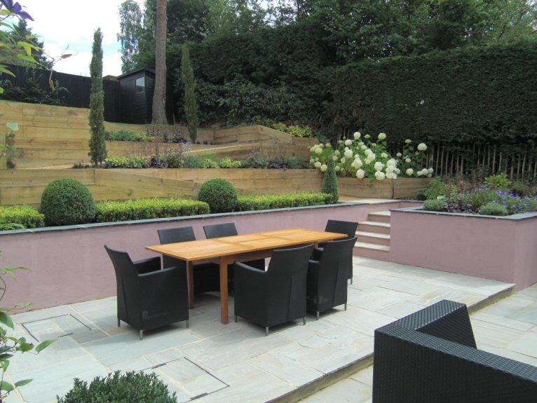Sloping Garden Design Pictures : A life designing june