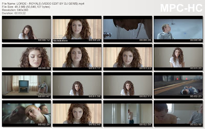 http://www.mediafire.com/download/4anck95m4ndfslv/LORDE+-+ROYALS+%28VIDEO+EDIT+BY+DJ+GEW%24%29.mp4