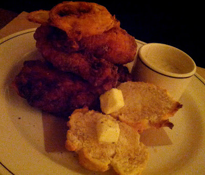 Fried Chicken at Ken and Cook in New York, NY - Photo by Taste As You Go