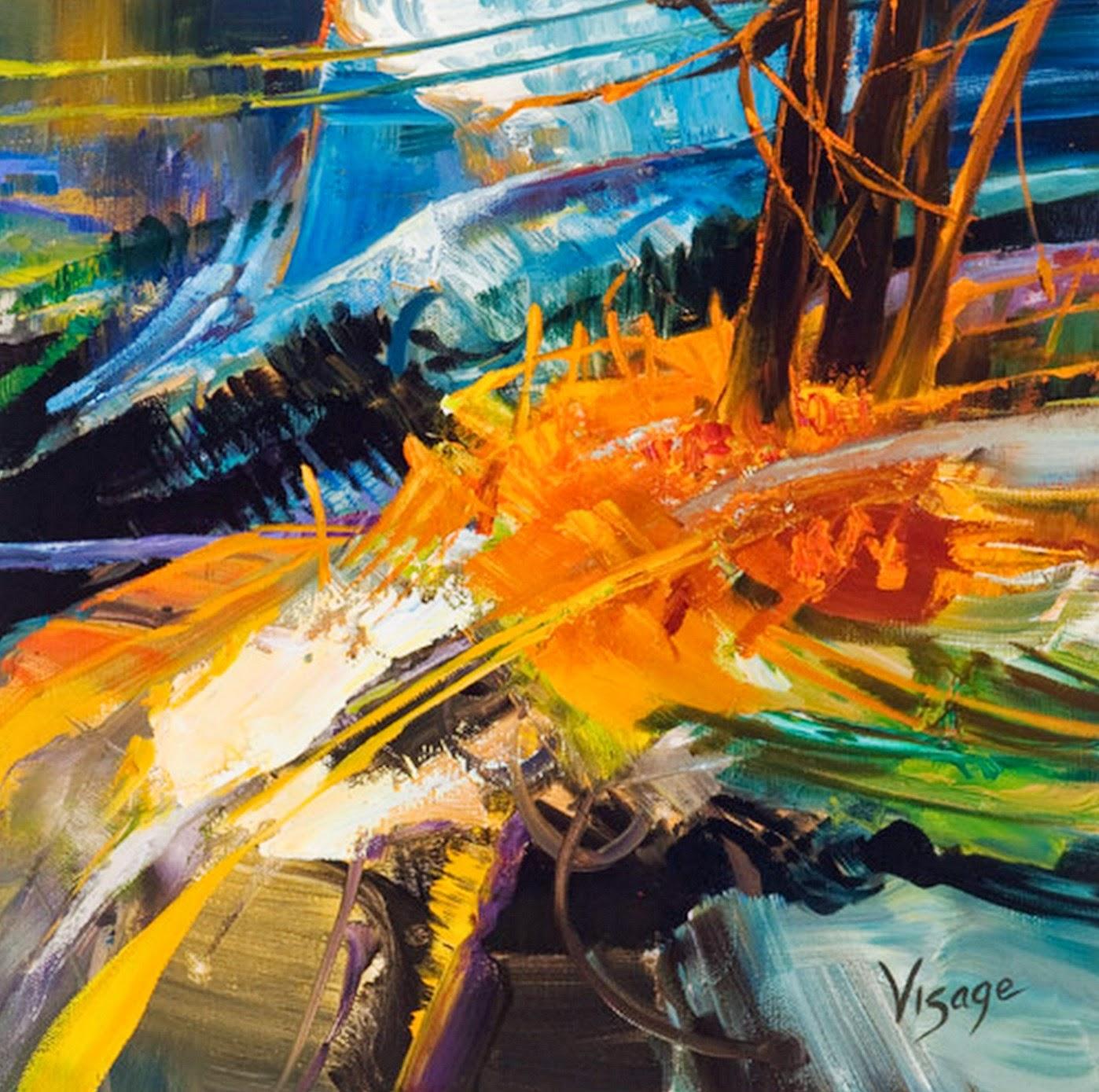 Im genes arte pinturas cuadros modernos de abstractos al - Oleos decorativos ...