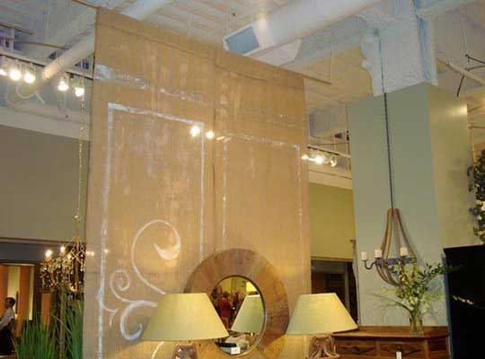 Hanging room divider design ideas pictures house crunch - Room divider curtain ideas ...