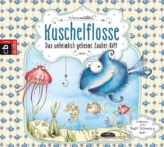 http://www.amazon.de/Kuschelflosse-Das-unheimlich-geheime-Zauber-Riff/dp/3837131408/ref=sr_1_1?ie=UTF8&qid=1445697436&sr=8-1&keywords=kuschelflosse+cd