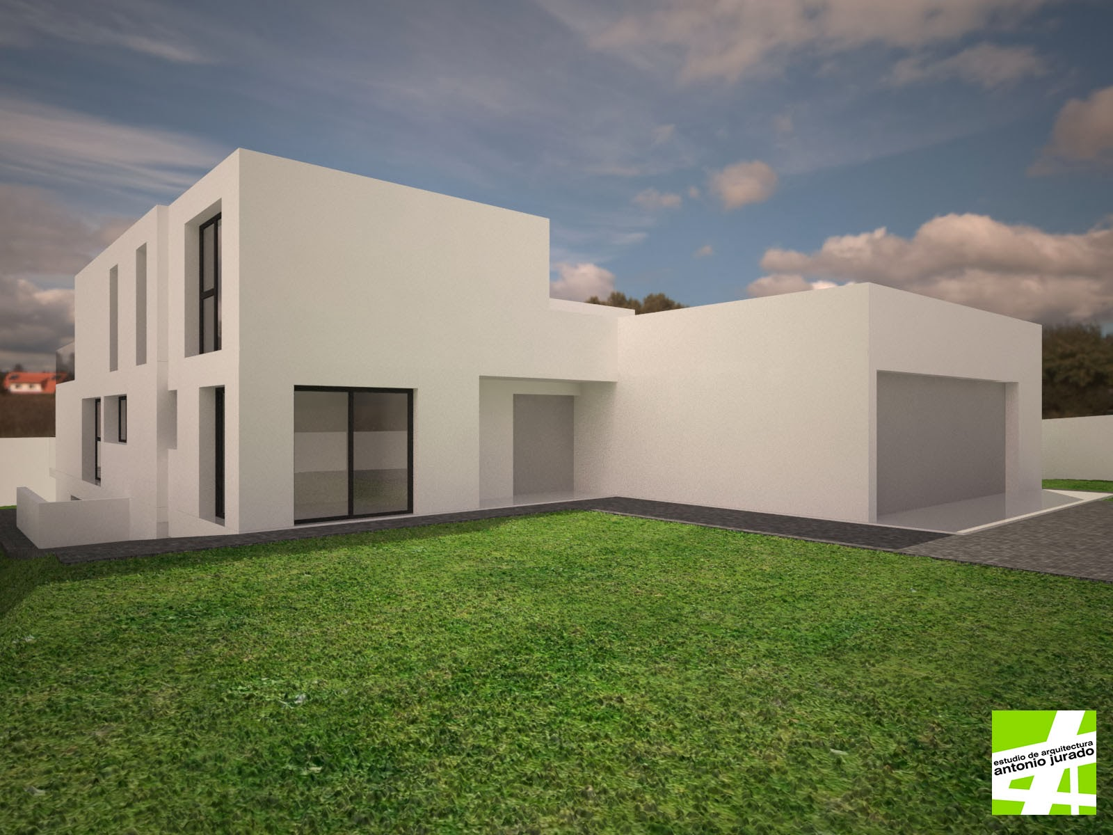 Vivienda unifamiliar aislada en urb los monteros marbella m laga estudio de arquitectura - Estudios de arquitectura en malaga ...