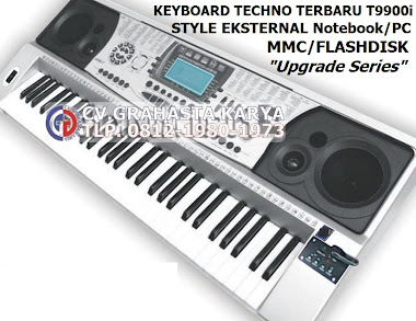 jual keyboard techno T9900i