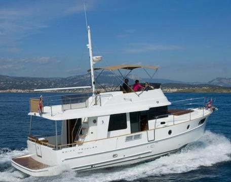 Beneteau new 44 Swift Trawler which was launched in the fall of 2010 ...