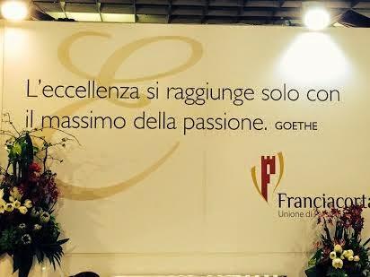 esperienza franciacorta a vinitaly 2014: storia di qualità, di bollicine e di torri medievali