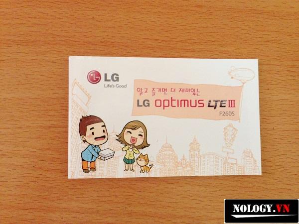 điện thoại lg optimus lte3