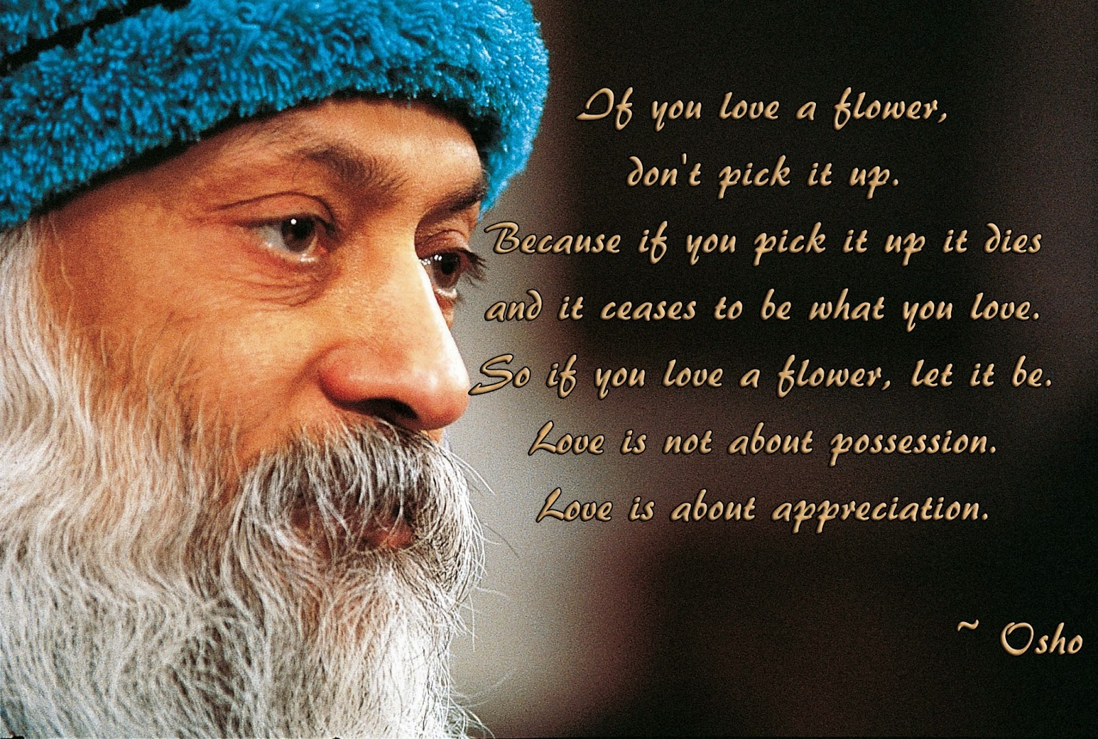 What Is Love Quotes Images : What is Love? Quotes by Osho - Inspirational Picture Quotes