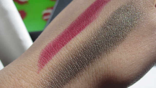 Charlotte Tilbury Matte Revolution Lipstick in Love Liberty and Eyes To Mesmerise in Veruschka