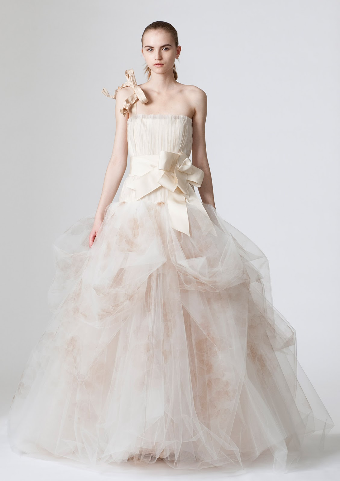 Luxurious Wedding Gown By World Famous Designer Vera