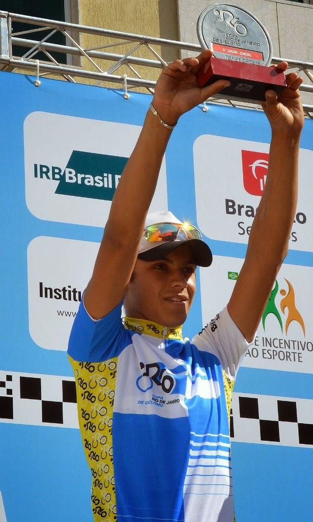 Com apenas 15 anos de idade e competindo há dois, Marlon Dias Motta já é promessa nacional do ciclismo