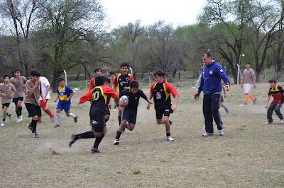 Jornada a puro Rugby en Cosquín